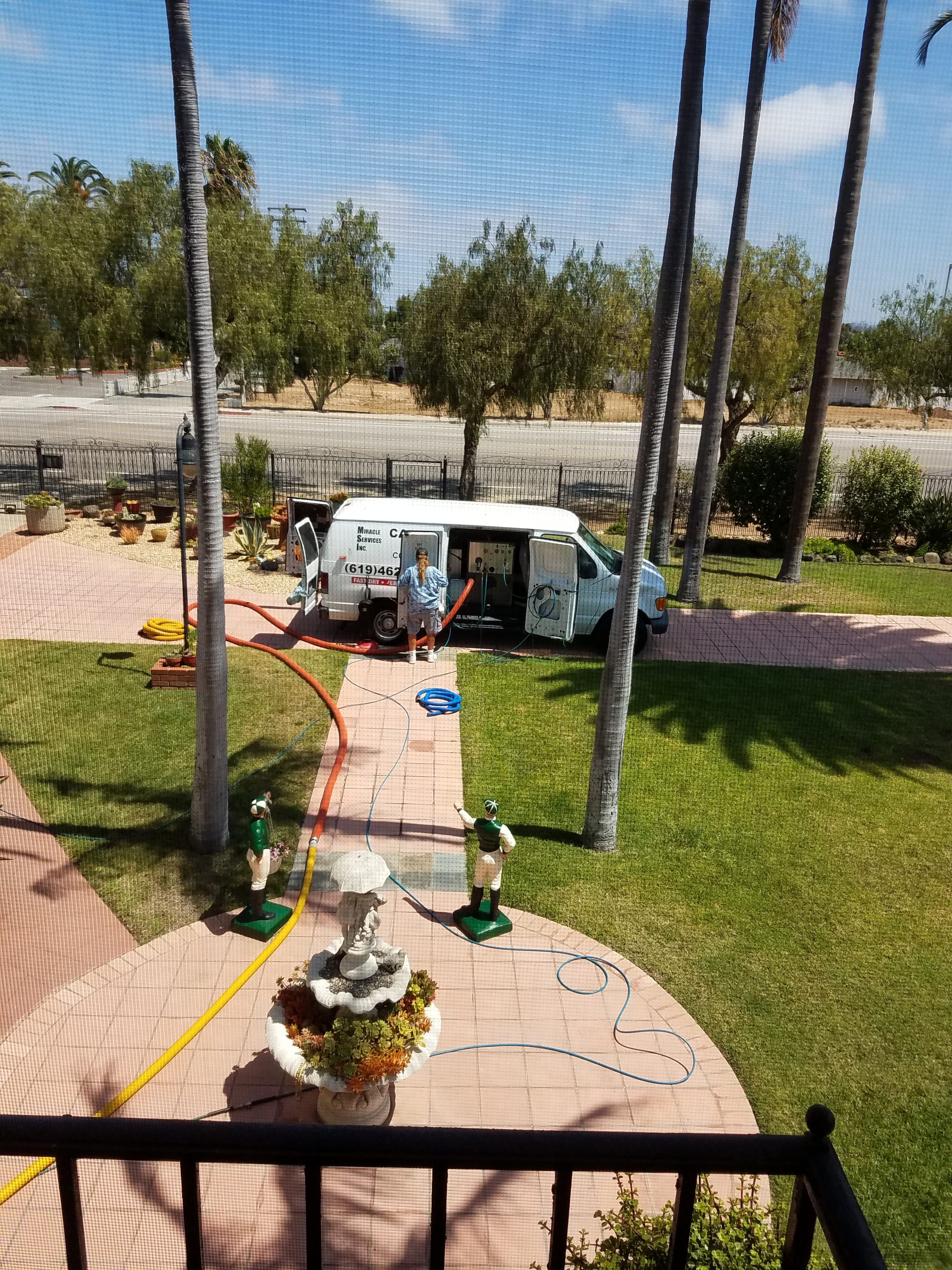 Truck Mount Carpet Cleaning San Diego Miracle Services