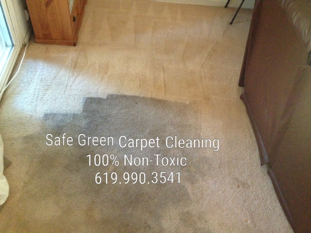 Natural carpet cleaning San Diego