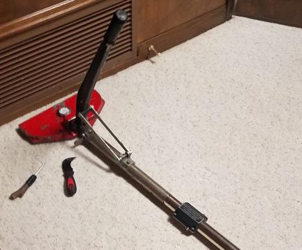 Vacuum cleaner handle