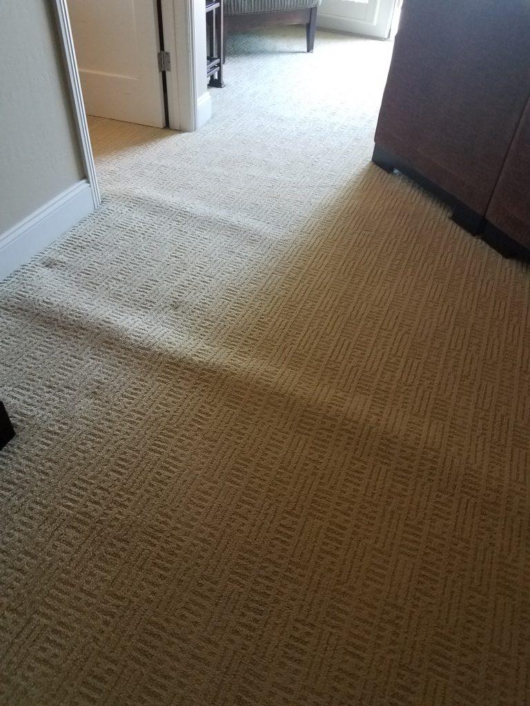Carpet buckling