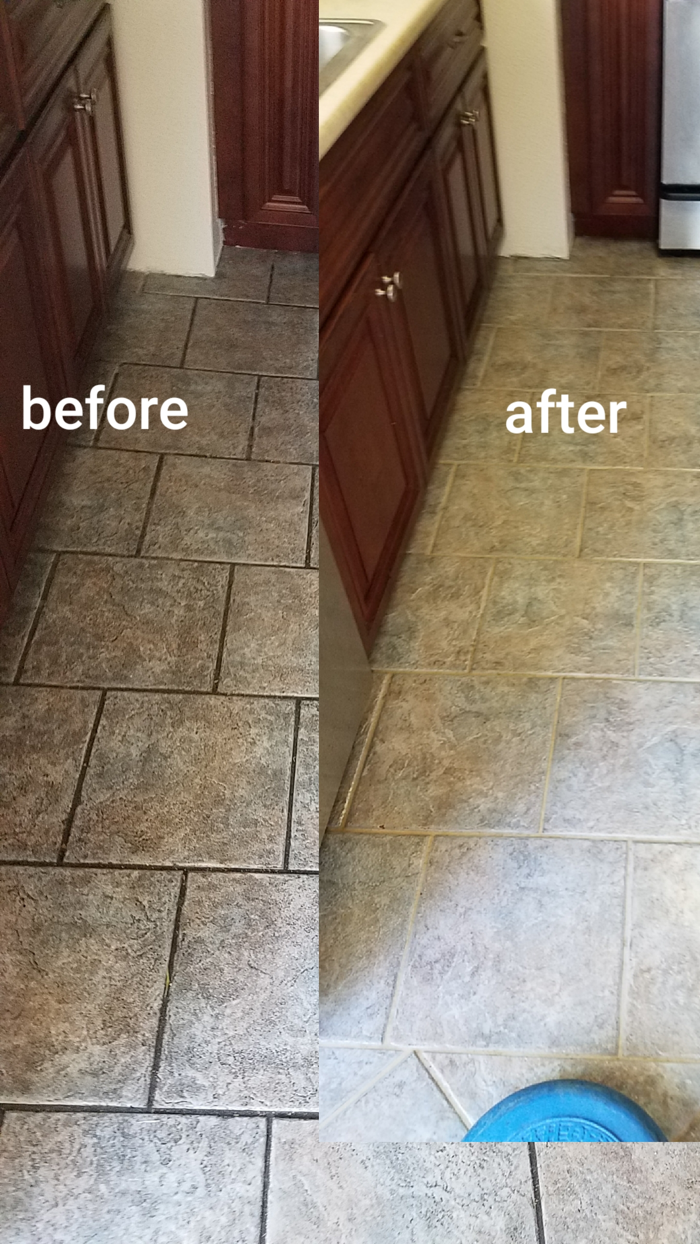 Miracle Services tile cleaning