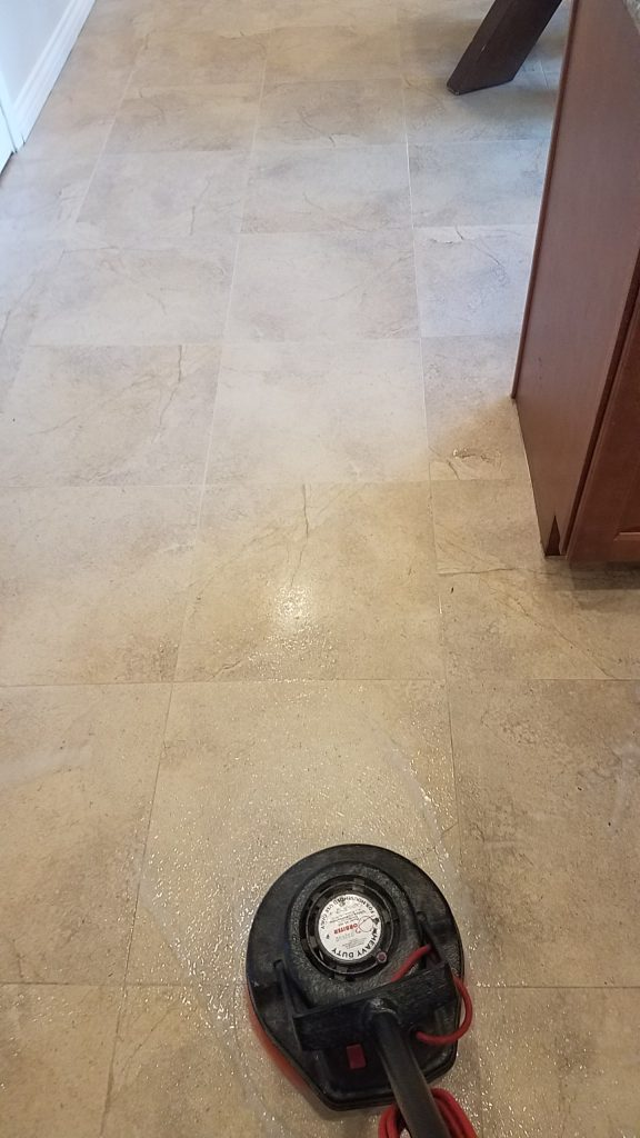 Tile & Grout Scrub Miracle Services
