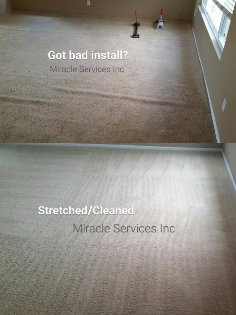 Carpet stretching & repair mountain city TN