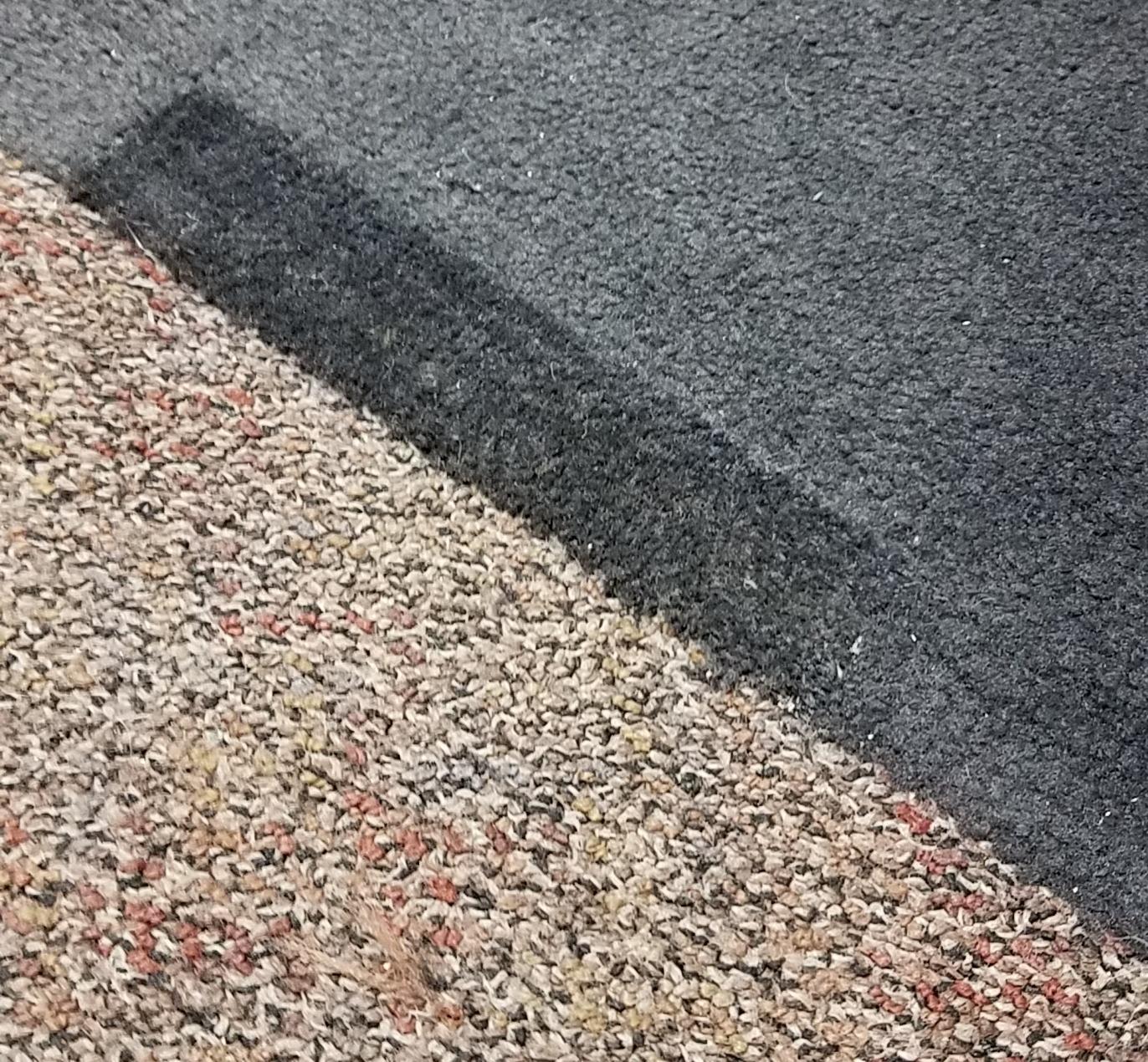 Commercial carpet patch