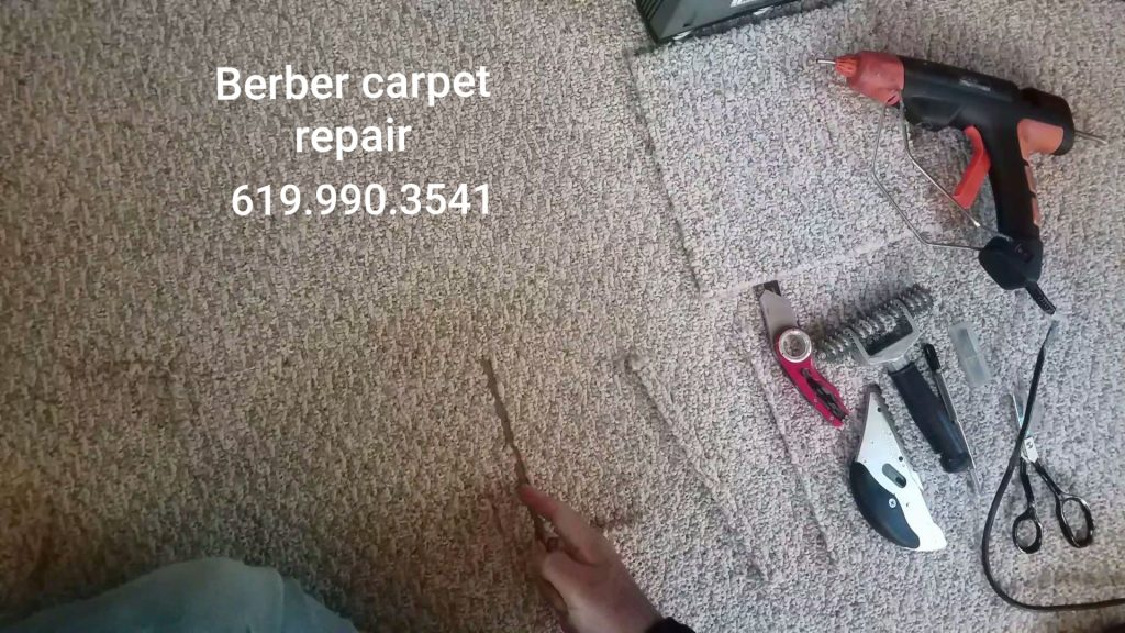 Carpet repair san diego