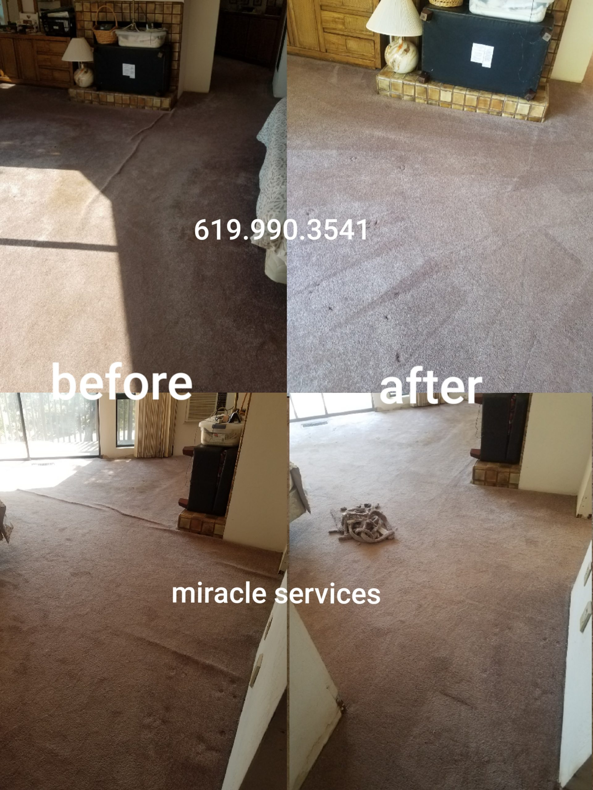 Stretching carpet & carpet cleaning in san diego