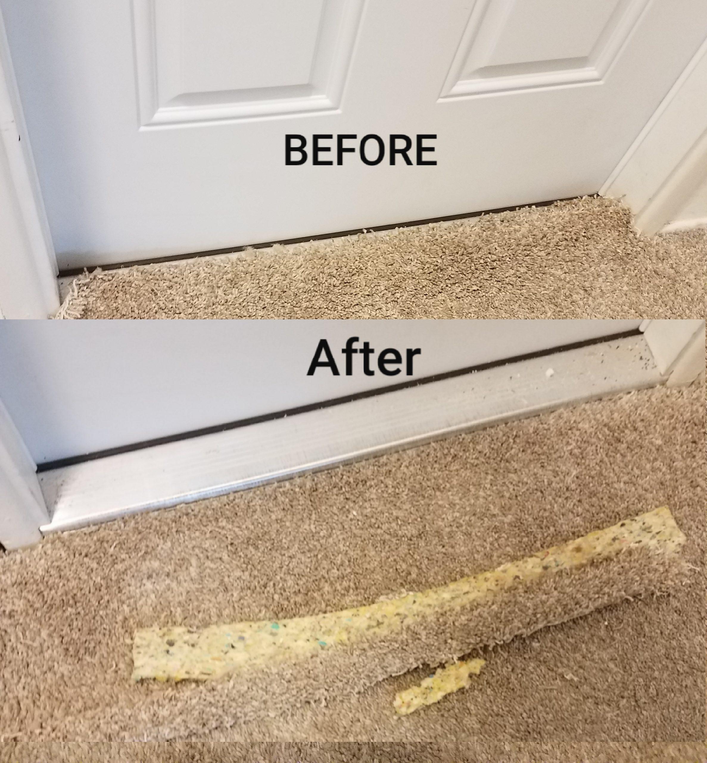 Carpet tack strip repair san diego